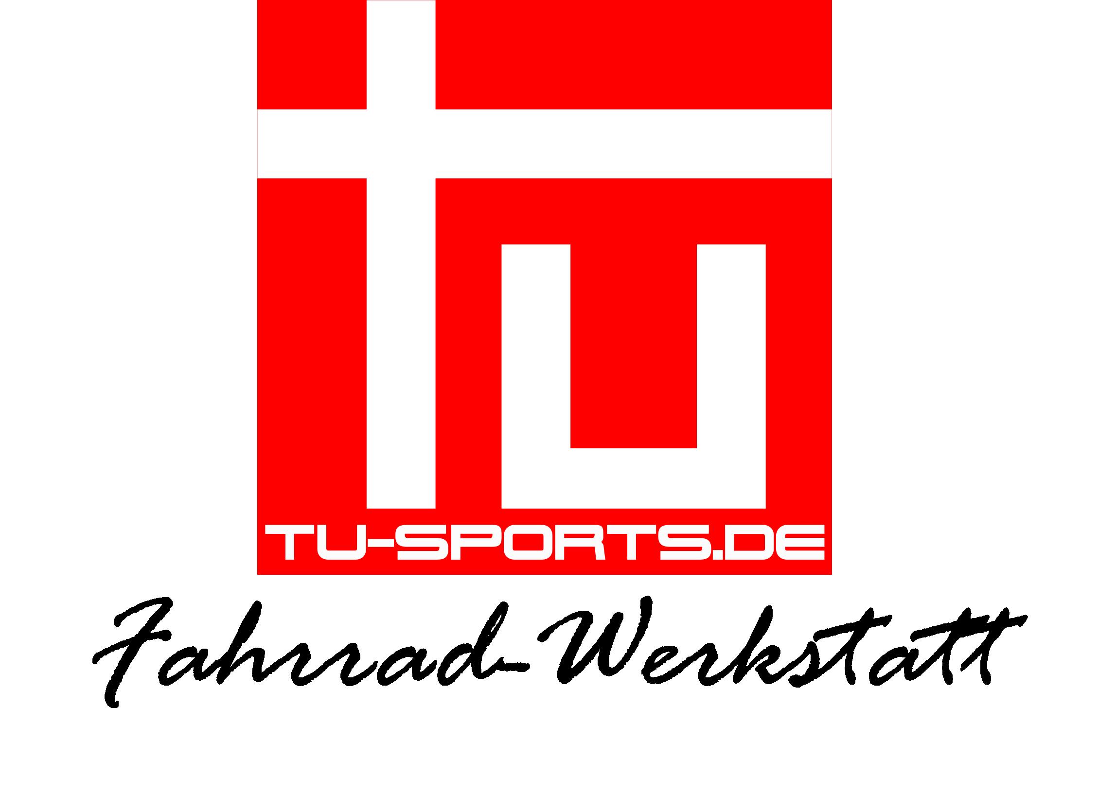Logo TU-Sports Fahrrad-Werkstatt PNG