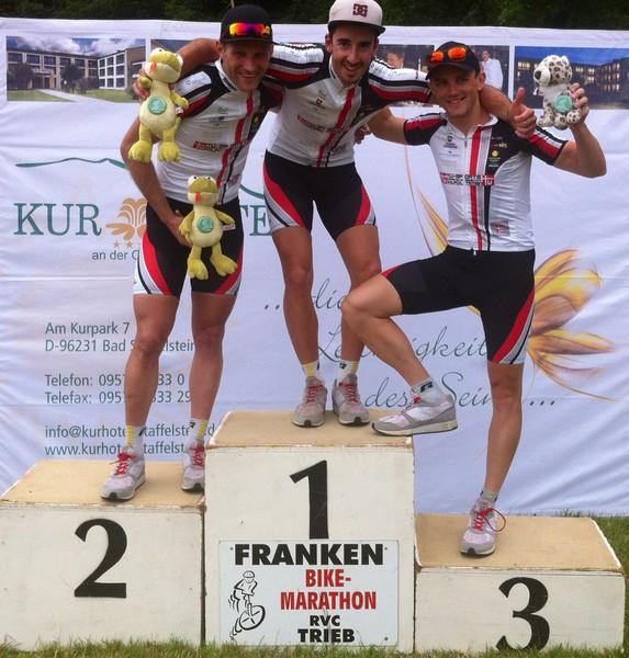 Siegerehrung Trieb Marathon